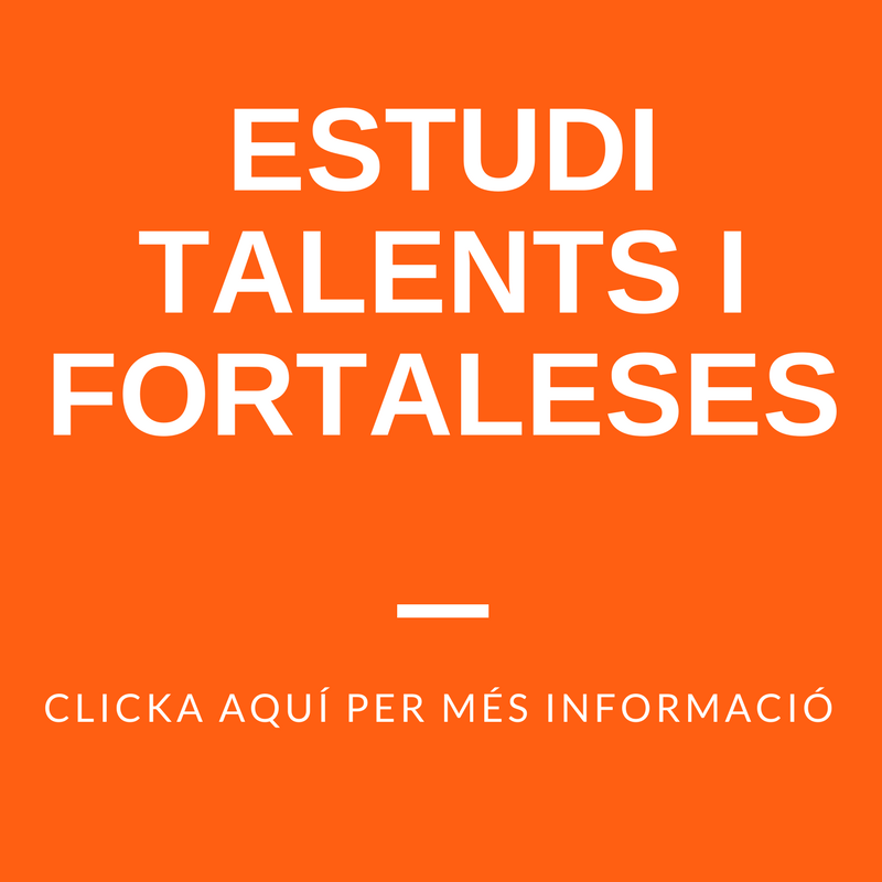 Estudi talents i fortaleses